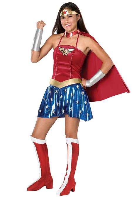 halloween costumes for teen girls wonder woman teen costume