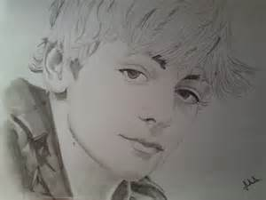 Portrait of Ross Lynch by Erni on Stars Portraits
