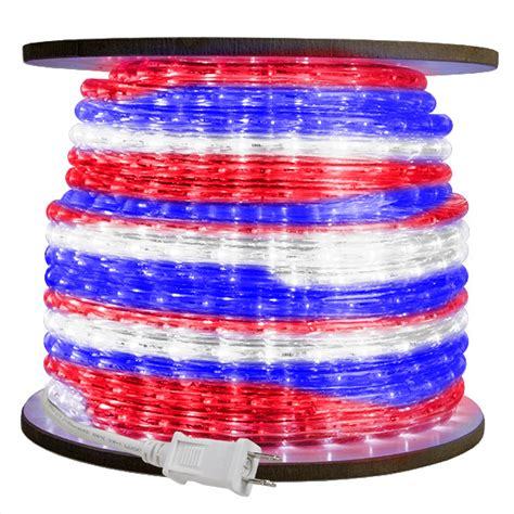 3 8 in led rwb rope light led 10mm rwb 150