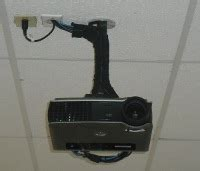 Multimedia Projector Ceiling Mount by Past Projects Granite State Networks