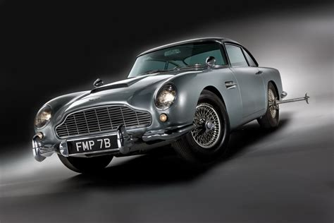 James Bond S Original 007 Aston Martin Db5 Up For Sale