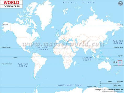 fiji on world map where is fiji location of fiji