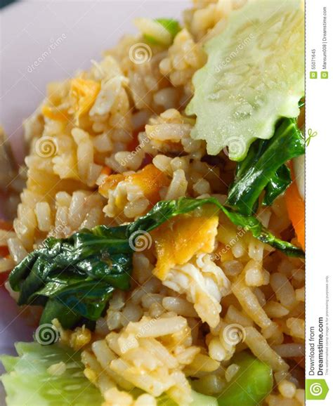 thai better food rice fried stock photo image 55071645