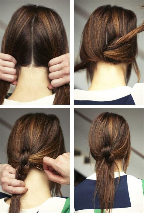 quick easy casual hairstyles ideas 17 fast and super creative diy hairstyle ideas for more