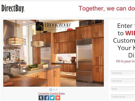 directbuy kitchen cabinets enter the directbuy kitchen cabinet giveaway sweepstakes