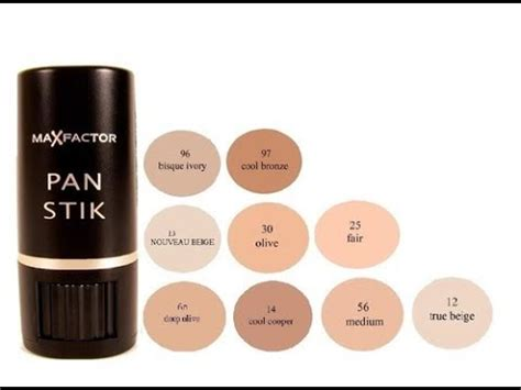 maxfactor panstick foundation review  opinion youtube