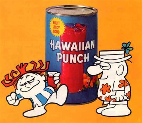 hawaiian punch  originally  ice cream topping