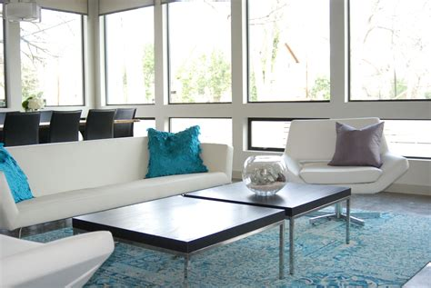 contemporary livingroom modern homes tour austin maureen stevens