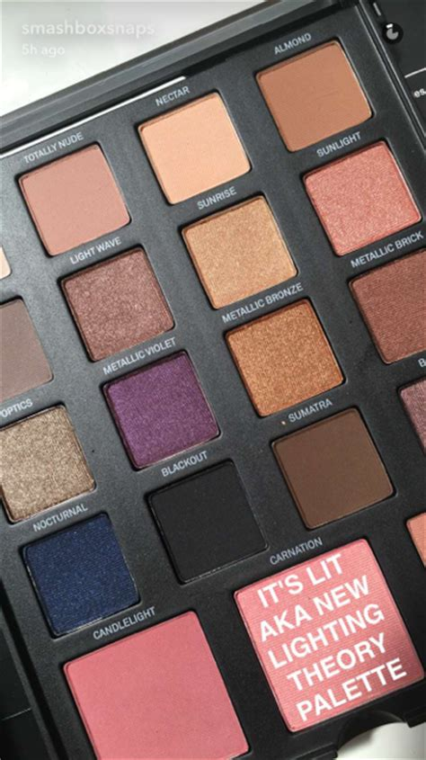 smashbox master class palette lighting theory snapchat story favorites no 7 a very sweet blog