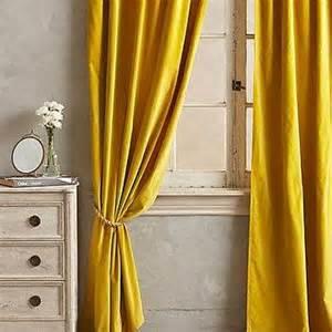 yellow velvet curtains cornsilk chelsea curtains set of 2 world market
