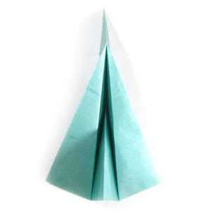 Simple Origami Plane - how to make a simple jet plane page 9
