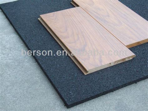 Wooden Floor Underlay Insulation by Acoustic Foam Rubber Underlay Wood Flooring Underlay Foam