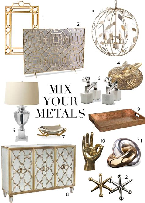 mix copper and gold mixing metals the do s and don ts