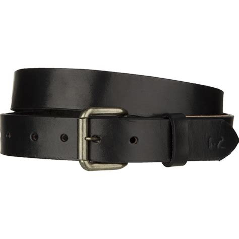 will leather goods classic saddle leather belt s