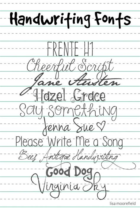 free printable writing fonts bees antique handwriting crafts fonts pinterest