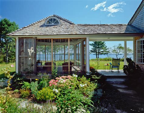 cottages with breezeway screened gazebo porch victorian with breezeway coastal