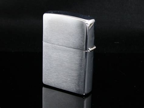 buy 200 brushed chrome by zippo in india