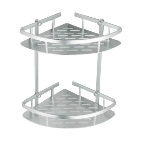 Rak Sudut Kamar Mandi Aluminium rak sudut kamar mandi aluminium rak serbaguna tempat sabun