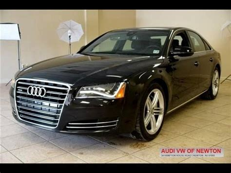Audi A8 Supercharged by 2013 Audi A8 3 0t Supercharged Sedan