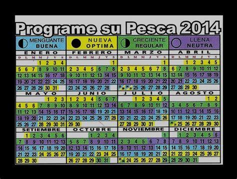 calendario lunar para la pesca 2016 almanaque de pesca 2014 imagui