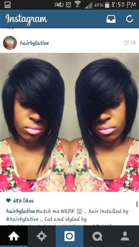 bob and swoop bang swoop bangs deep side part and cute cuts on pinterest