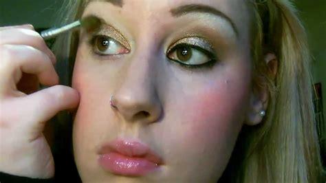 natural eye makeup tutorial youtube brown gold natural eye makeup tutorial youtube