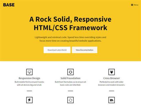 html responsive design framework 9 responsive frameworks for front end design
