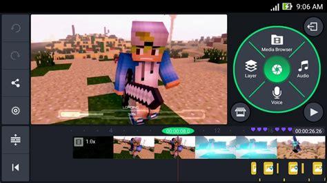 cara bikin video animasi android cara membuat intro 3d animasi minecraft di android
