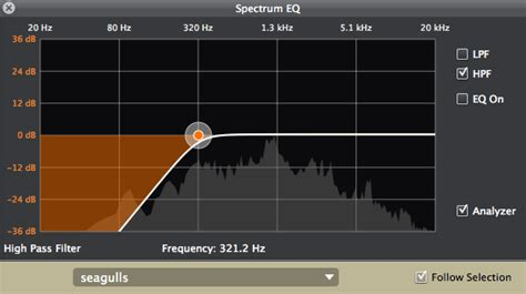 high pass filter eq introduction to midi and computer reason filters and eq