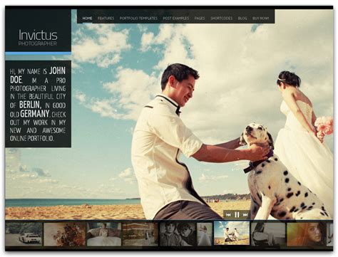 Wedding Photo Website by The Guide To Wedding Photography Business