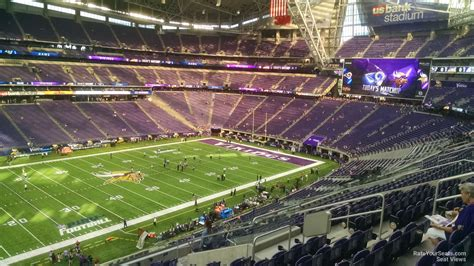 section 13 a u s bank stadium section 238 rateyourseats com