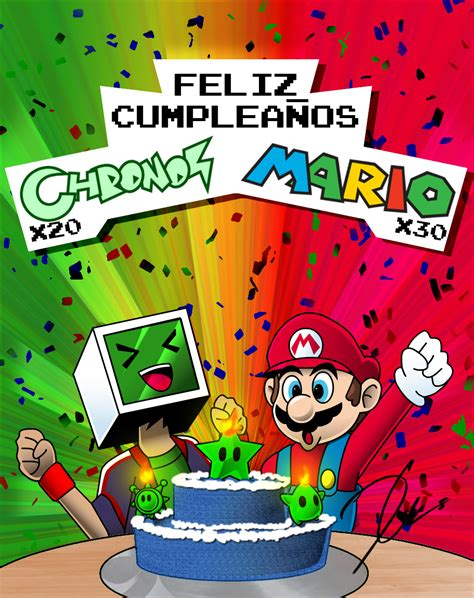Mario Bros 30 161 30 aniversario de mario bros arte taringa