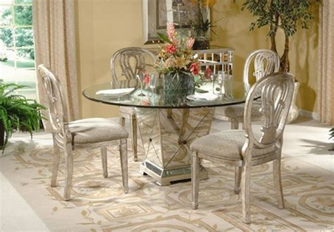 glass top pedestal dining room tables top 4 inspiring pedestal dining table with glass top