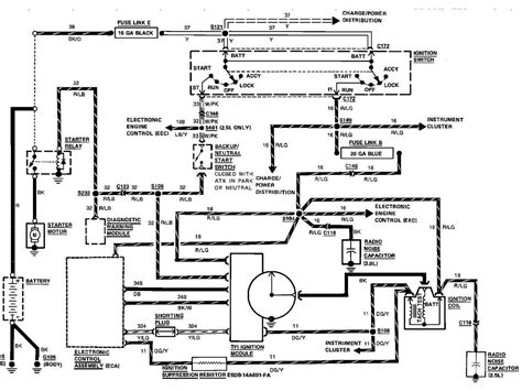 1989 ford f 350 ignition wiring diagram get free image