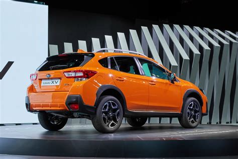 orange subaru 2018 subaru is here with familiar looks new platform