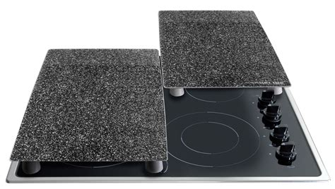 STONELINE® Cooktop cover plates / cutting board set, set