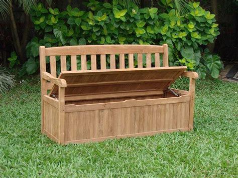 build  garden storage bench ebay