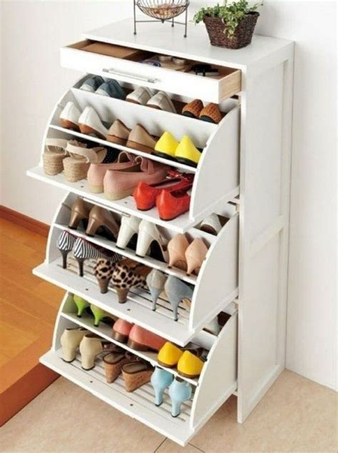 shoe organizer best 25 shoes organizer ideas on shoe organizer shoe box storage and diy storage pouf