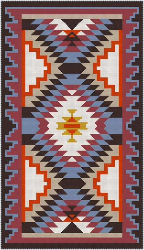 navajo rug designs 1000 images about miniature cross stitch on needlework miniature and navajo rugs
