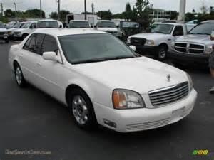 2000 Cadillac Sedan 2000 Cadillac Sedan In Cotillion White 238556