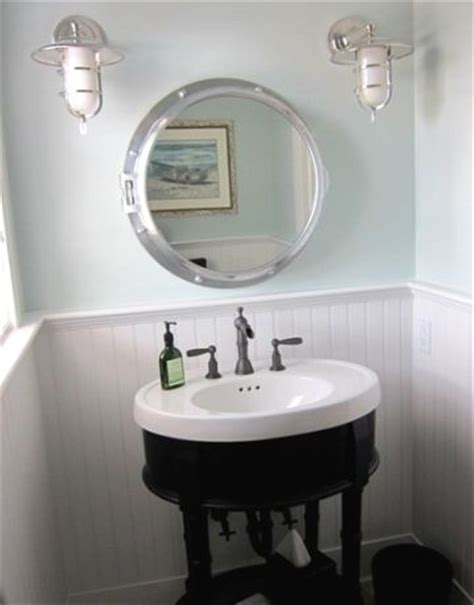 Porthole Vanity Mirror porthole mirrors for the bathroom house on the water