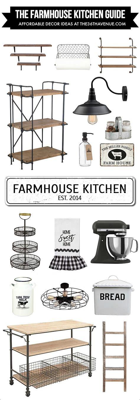 farmhouse kitchen decor ideas the 36th avenue kitchen farmhouse decor affordable ideas the 36th avenue