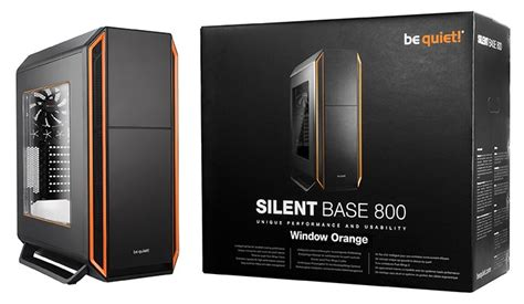 D1163 Be Gaming Silent Base 800 With Side Wind C1163 be announces silent base 800 window chassis