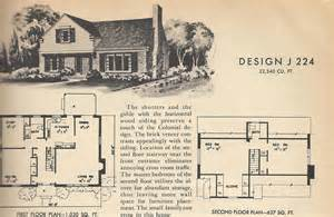 vintage house blueprints vintage house plans j224 antique alter ego