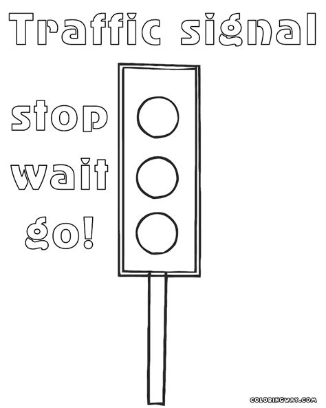 lights coloring page traffic light coloring pages coloring pages to