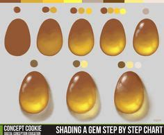 paint tool sai gradient map how to paint gold tutorial by conceptcookie on deviantart