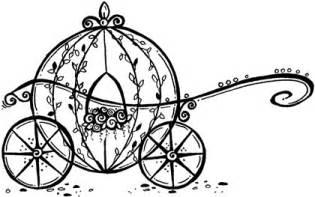 Cinderella Carriage Rubber Stamp  Wedding Stuff Pinterest sketch template