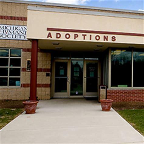 adoptable pets by location michigan humane society