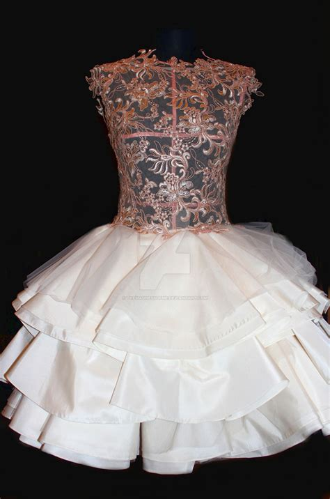 Wedding Dress Handmade - handmade wedding dress by themadnessofme on deviantart