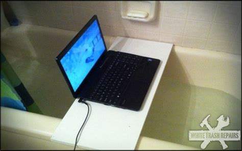 bathtub laptop laptop bath whitetrashrepairs com